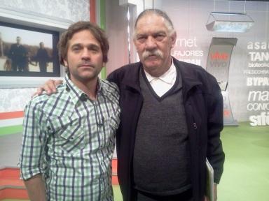 Nicolás Pauls y Jorge Denti