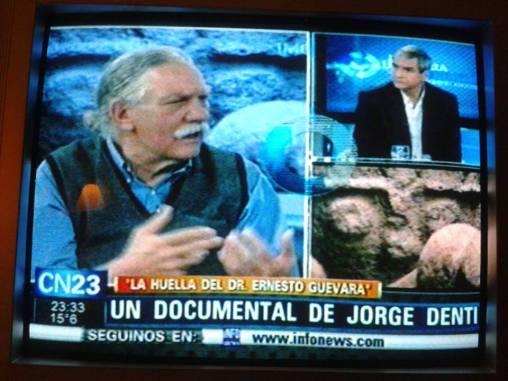 Jorge Denti con Eduardo Anguita