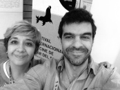 Sebastián Alfie y Cynthia Sabat en Mar del Plata FF