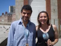 Sebastián Alfie y Gabriela Radice