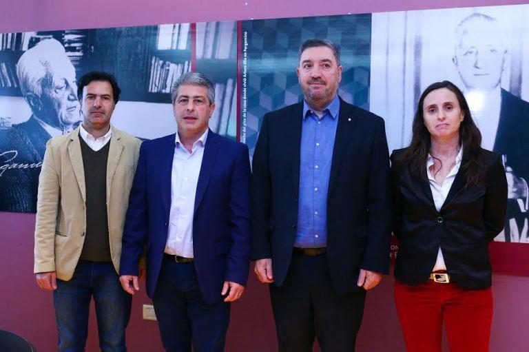 Conferencia de prensa lanzamiento Pergamino Cine