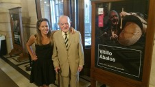 ABALOS, UNA HISTORIA DE 5 HERMANOS - Josefina Ábalos junto a Vitillo Ábalos (2018)