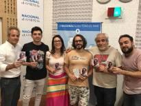 EL PUTO INOLVIDABLE - En Radio Nacional (2017)