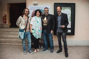 EL PUTO INOLVIDABLE - En el estreno junto a sus protagonistas (2017)