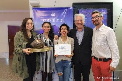 FESTIVAL CORDILLERA - Los organizadores con ganadores y jurado (2016)